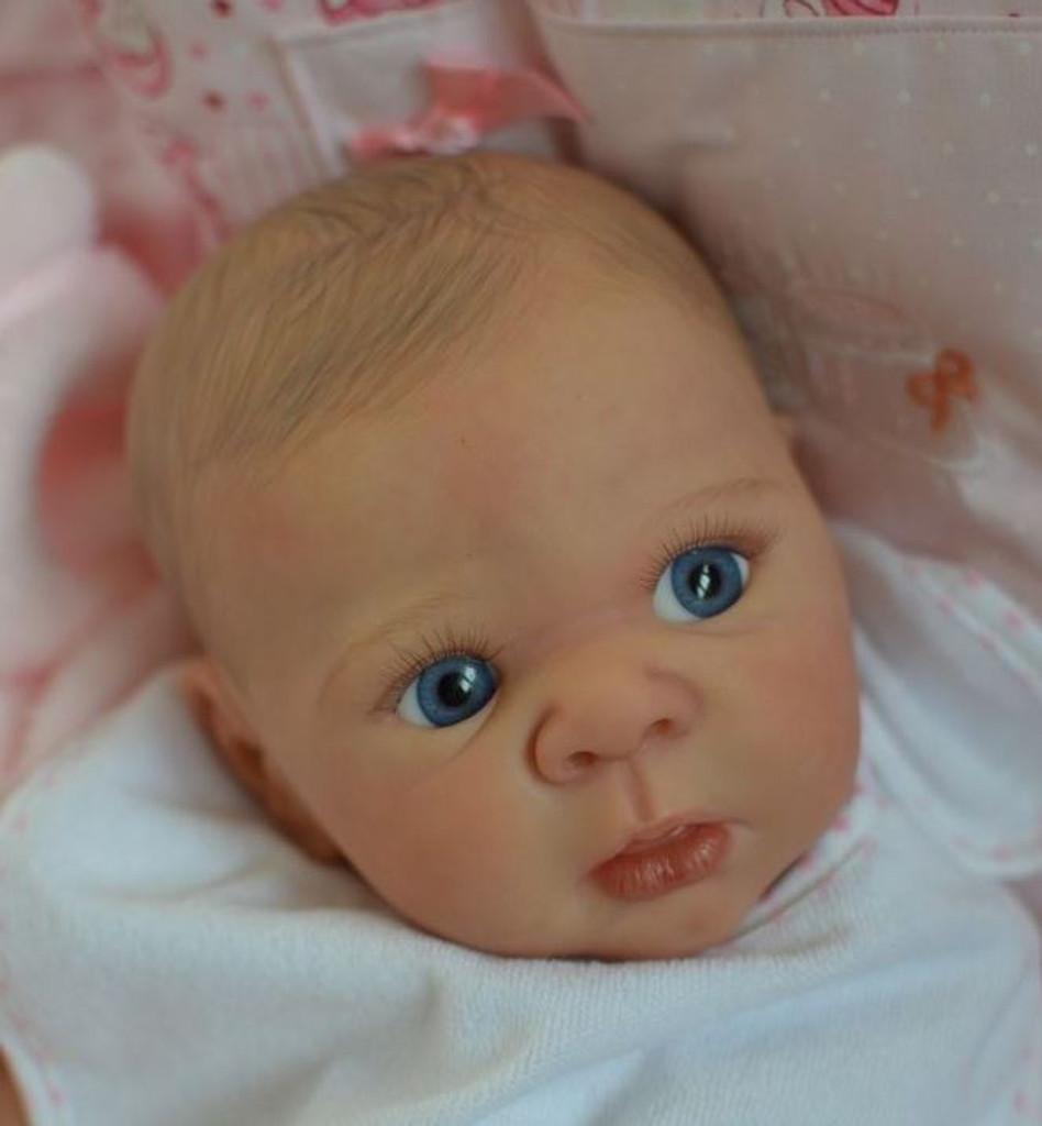 Eric Reborn Vinyl Doll Head by Adrie Stoete  Mix & Match - HEAD ONLY