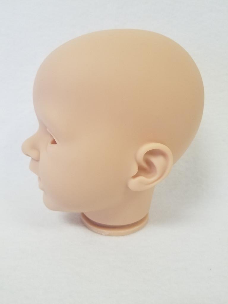 Sofia Reborn Vinyl Doll Head by Reva Schick - HEAD ONLY