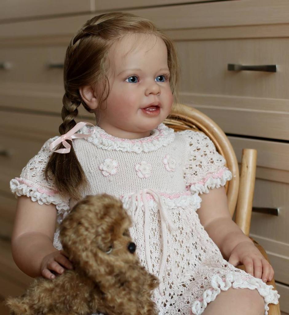 Katie Marie Toddler Reborn Vinyl Doll Kit by Ann Timmerman