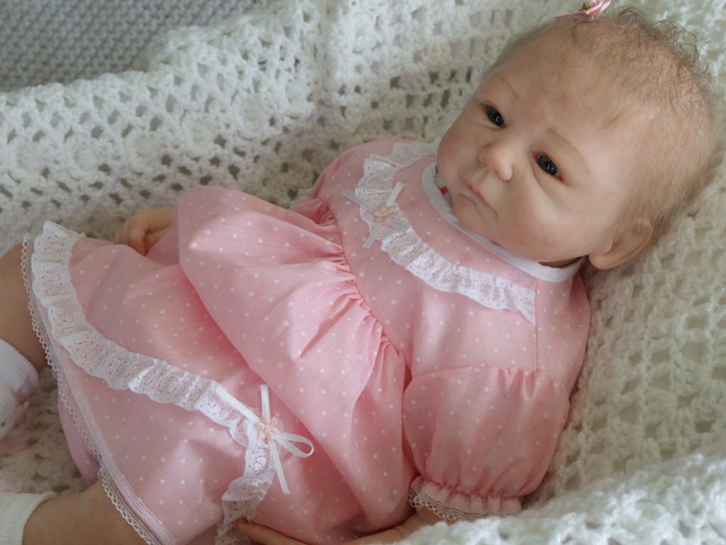 Malin Reborn Vinyl Doll Kit by Sheila Michael