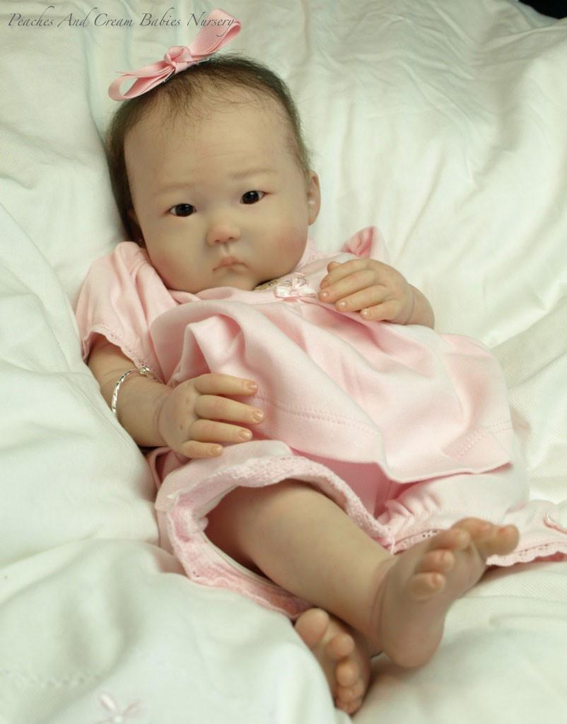 Anming Reborn Vinyl Doll Kit by Ping Lau