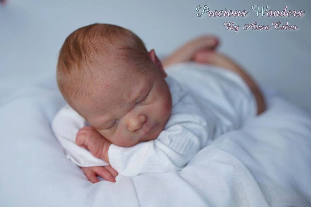 Leo Reborn Vinyl Doll Kit by Sabine Altenkirch