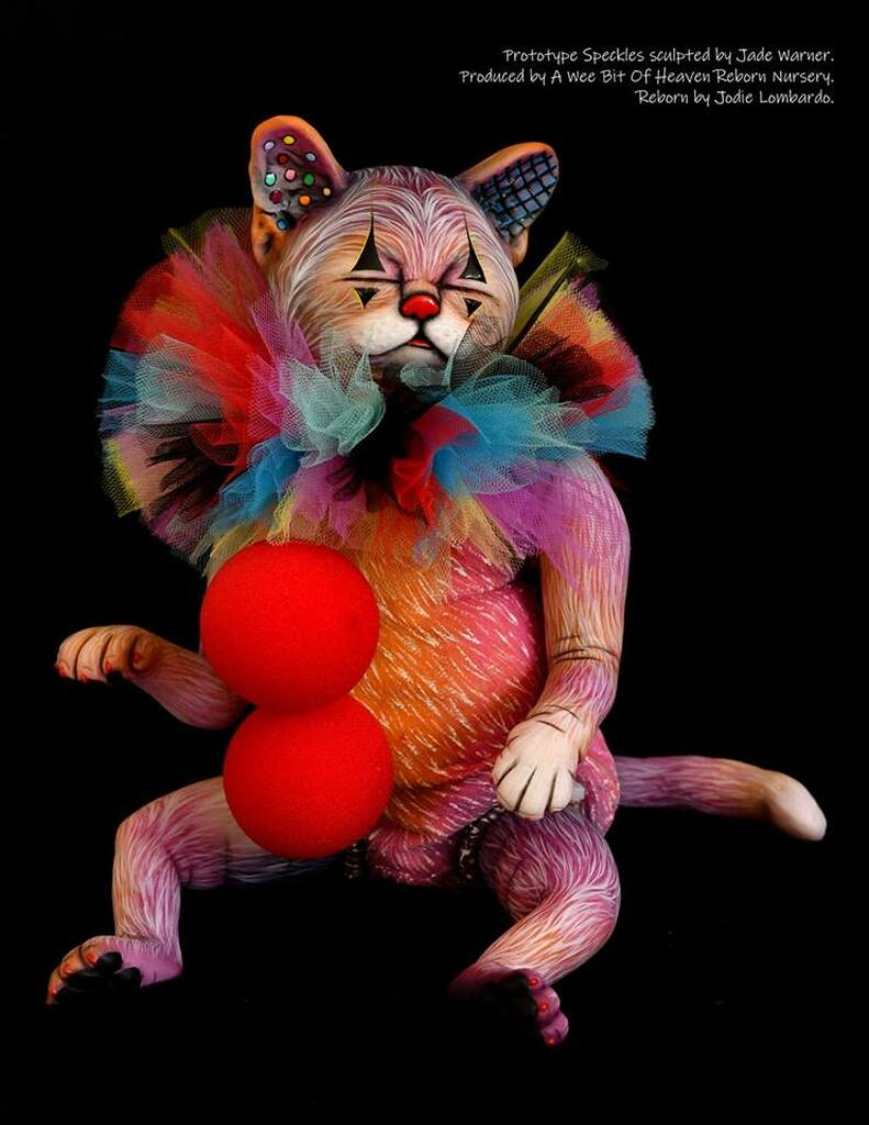Speckles the Kitten Reborn Vinyl Doll Kit by Jade Warner