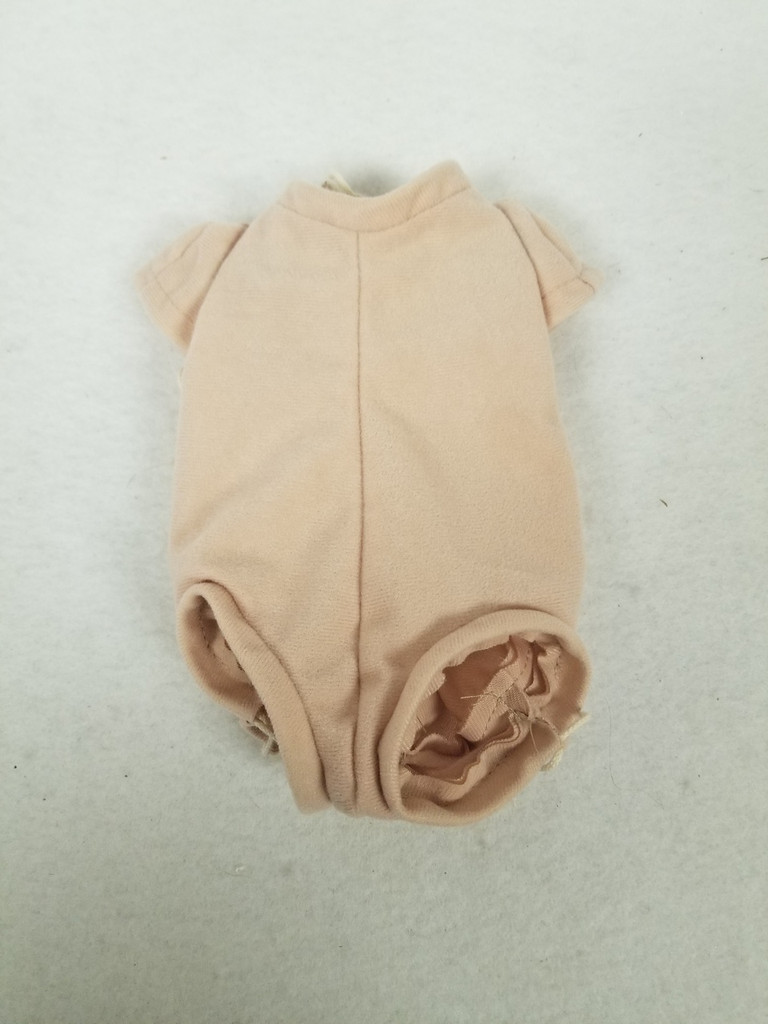 """Doe Suede Body for 14-15"""" Dolls 3/4 jointed Arms Full Front Unjointed Legs #300"""
