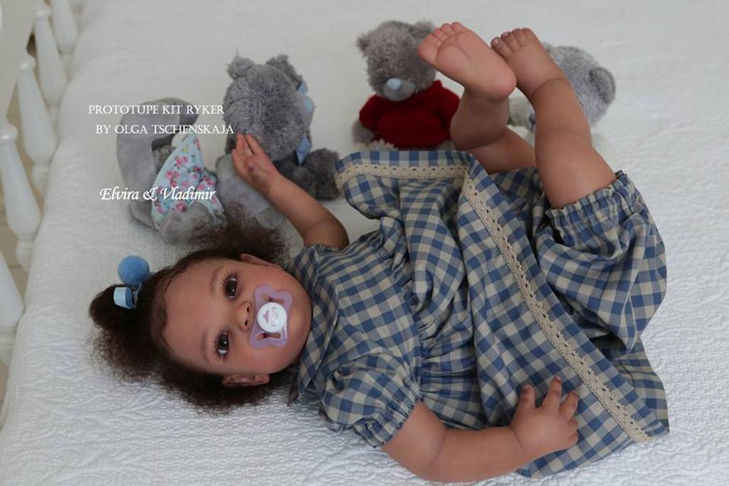 Ryker Reborn Vinyl Doll Kit by Olga Tschenskaja