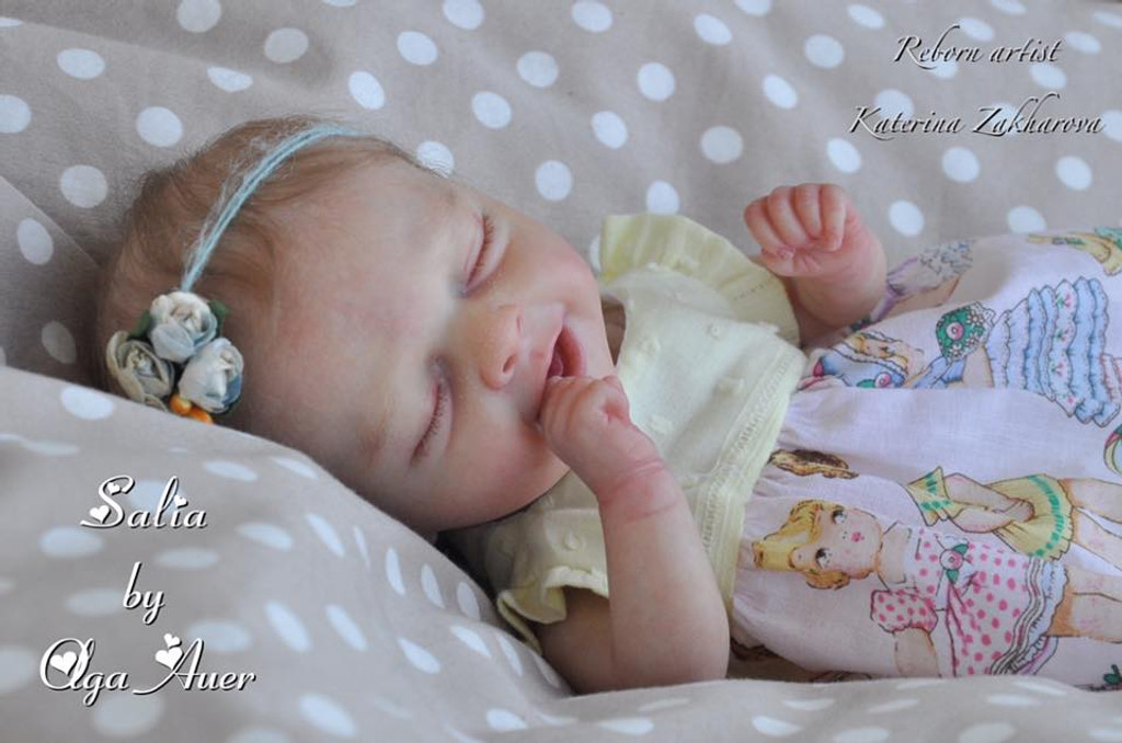 Salia Reborn Vinyl Doll Kit by Olga Auer