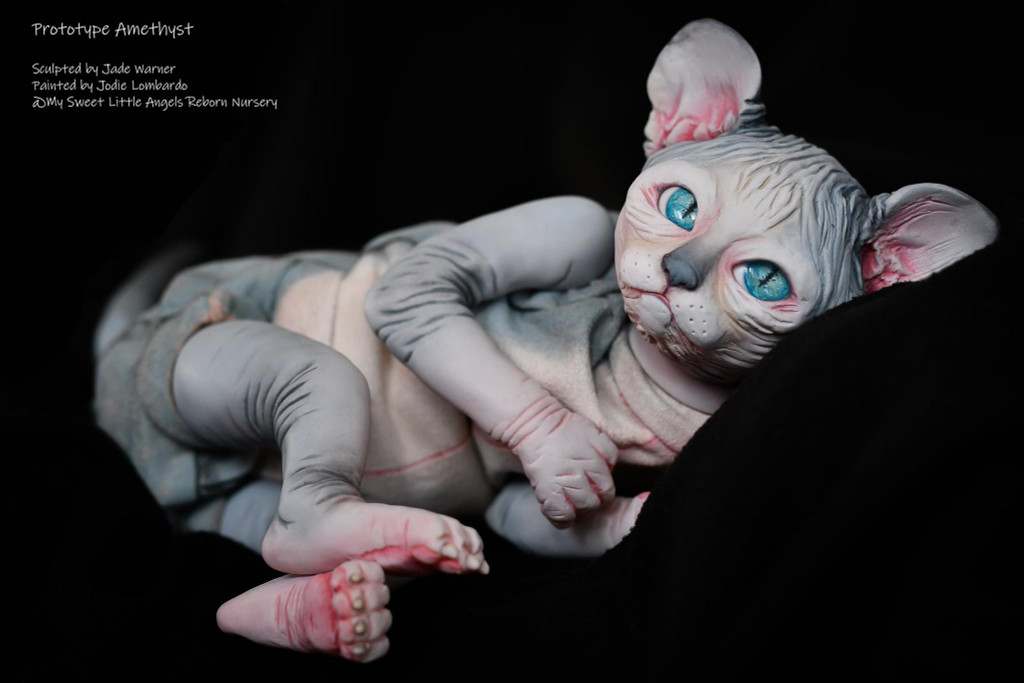 Amethyst Reborn Vinyl Doll Kit by Jade Warner IRRESISTABLES EXCLUSIVE!