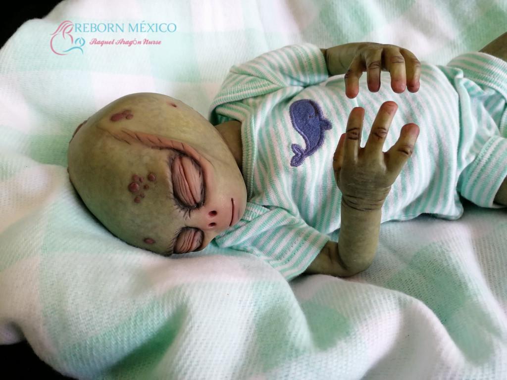 Eithia Reborn Baby Alien Vinyl Doll Kit by Jade Warner  Irresistables Exclusive!