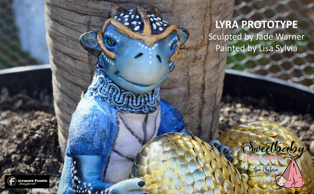 Lyra Reborn Vinyl Doll Kit by Jade Warner Irresistables Exclusive!