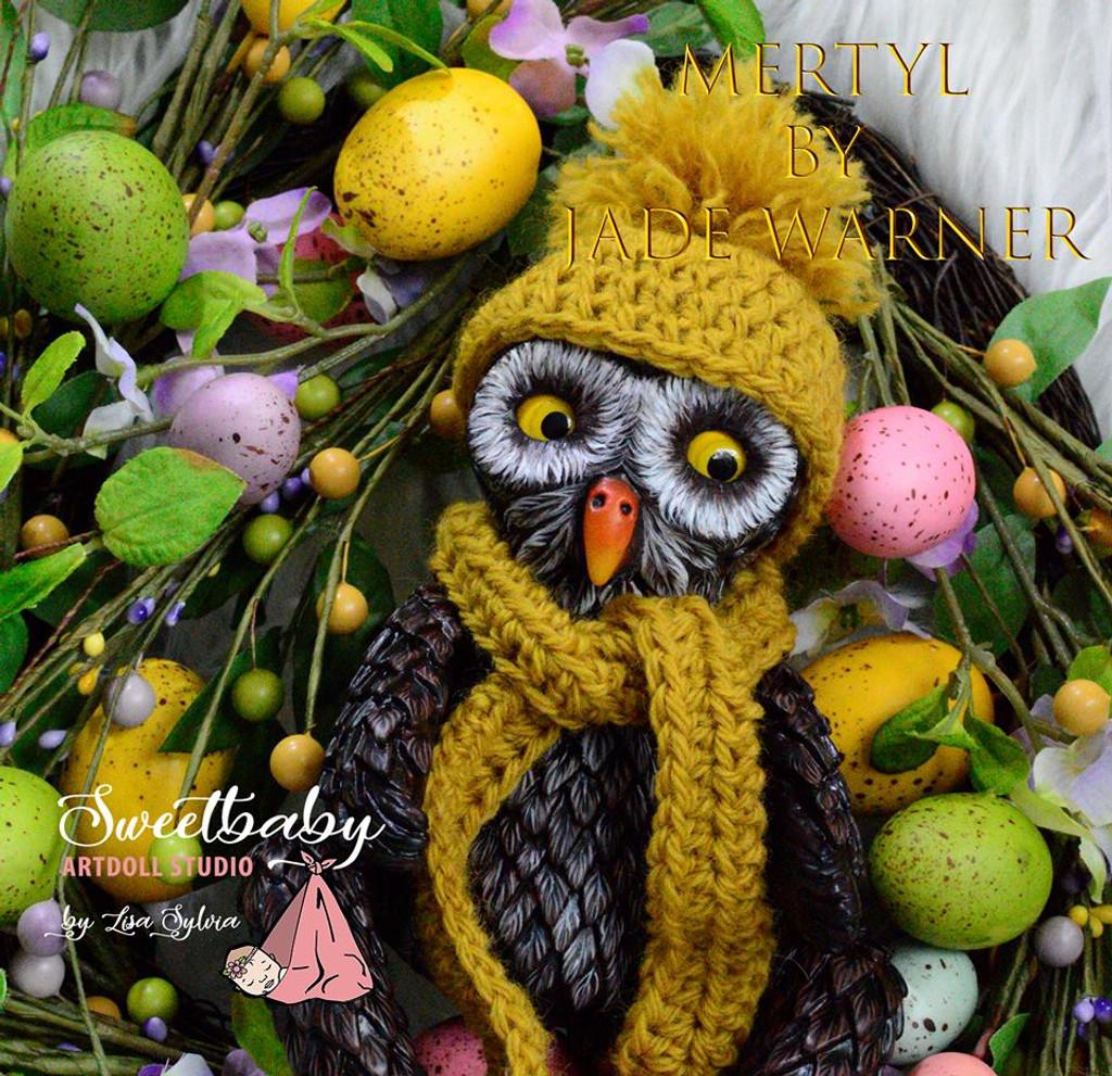 Mertyl Reborn Vinyl Doll Kit by Jade Warner