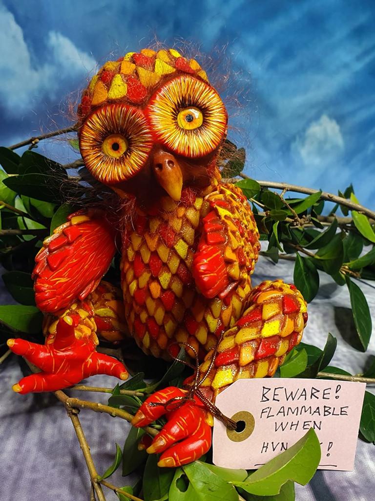 Mertyl the owl Reborn Vinyl Doll Kit by Jade Warner