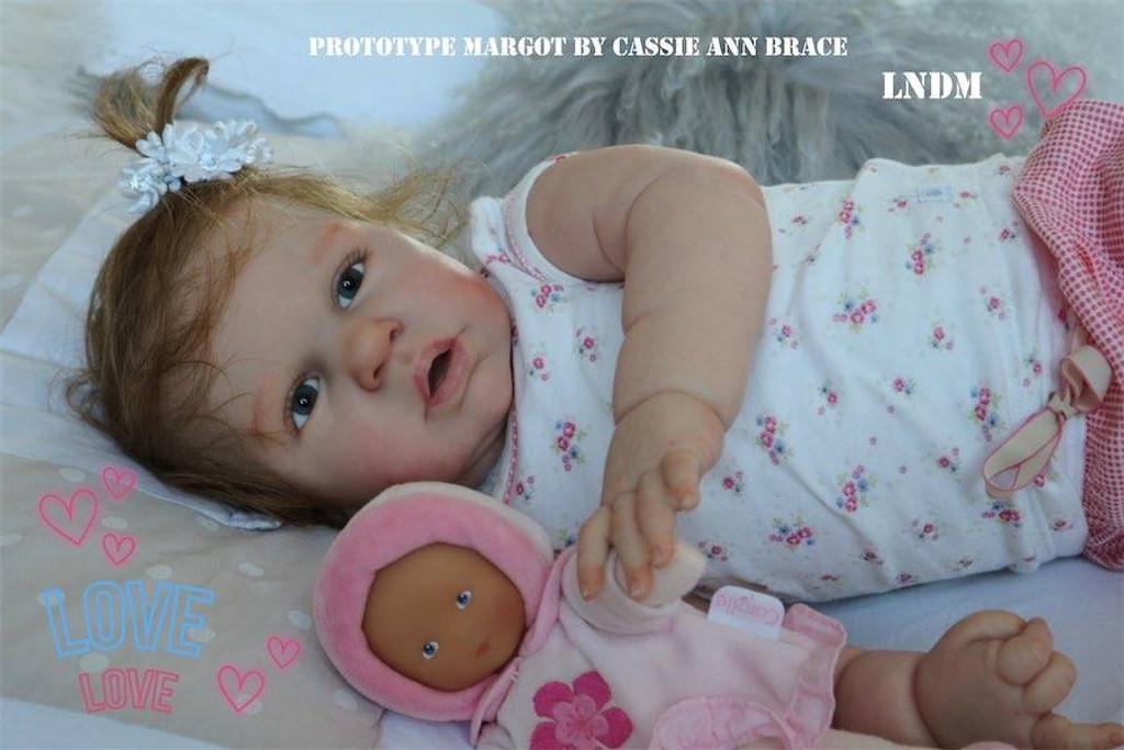 Margot Reborn Vinyl Doll Kit by Cassie Brace