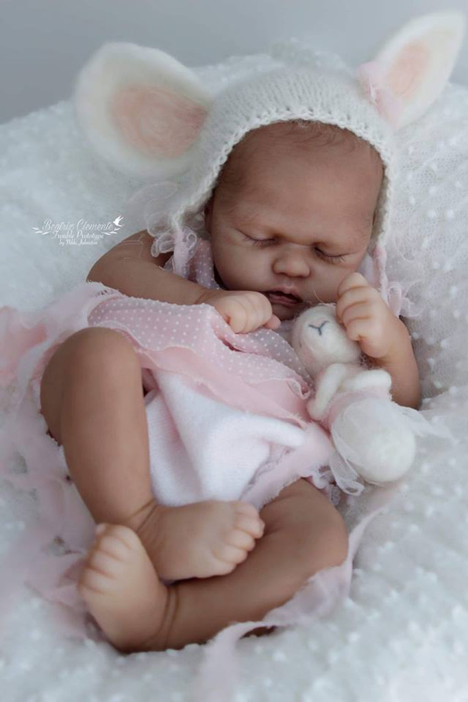Trouble Reborn Vinyl Doll Kit by Nikki Johnston