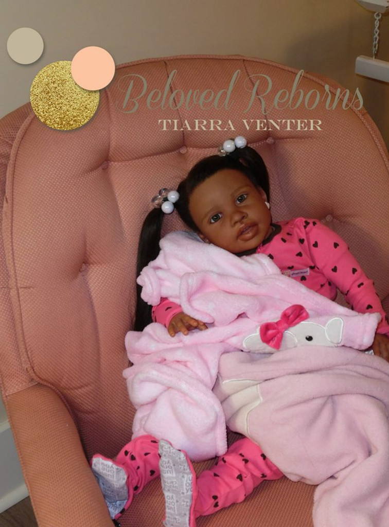 Timone Reborn Vinyl Doll Kit by Jannie De Lange