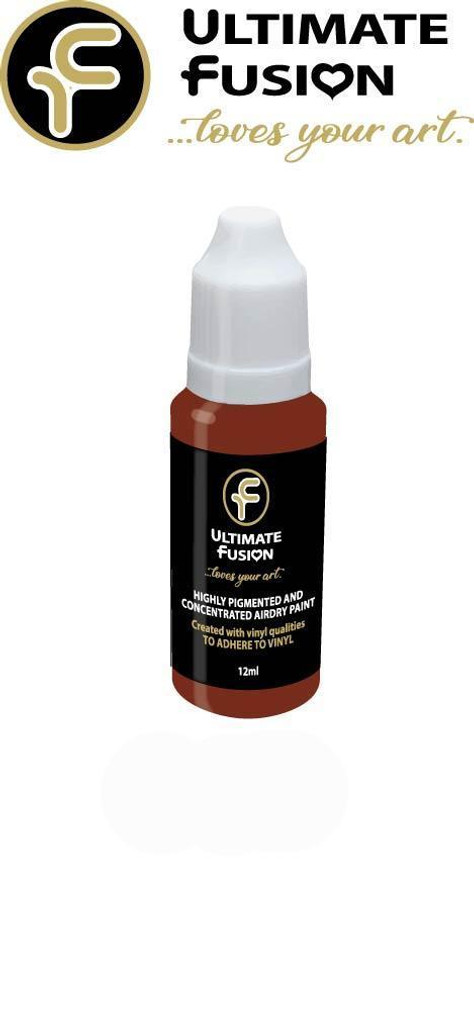 Ultimate Fusion All in One Air Dry Paint Deep Newborn Lips 12ml Bottle (.4 ounce)