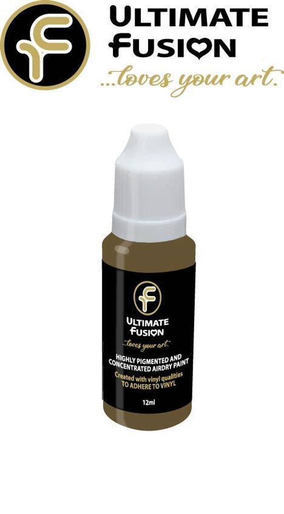 Ultimate Fusion All in One Air Dry Paint Flesh 03 12ml Bottle (.4 ounce)