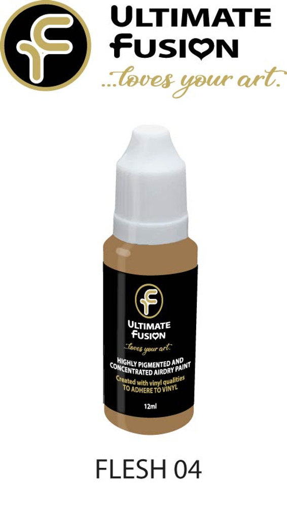 Ultimate Fusion All in One Air Dry Paint Flesh 04 12ml Bottle (.4 ounce)