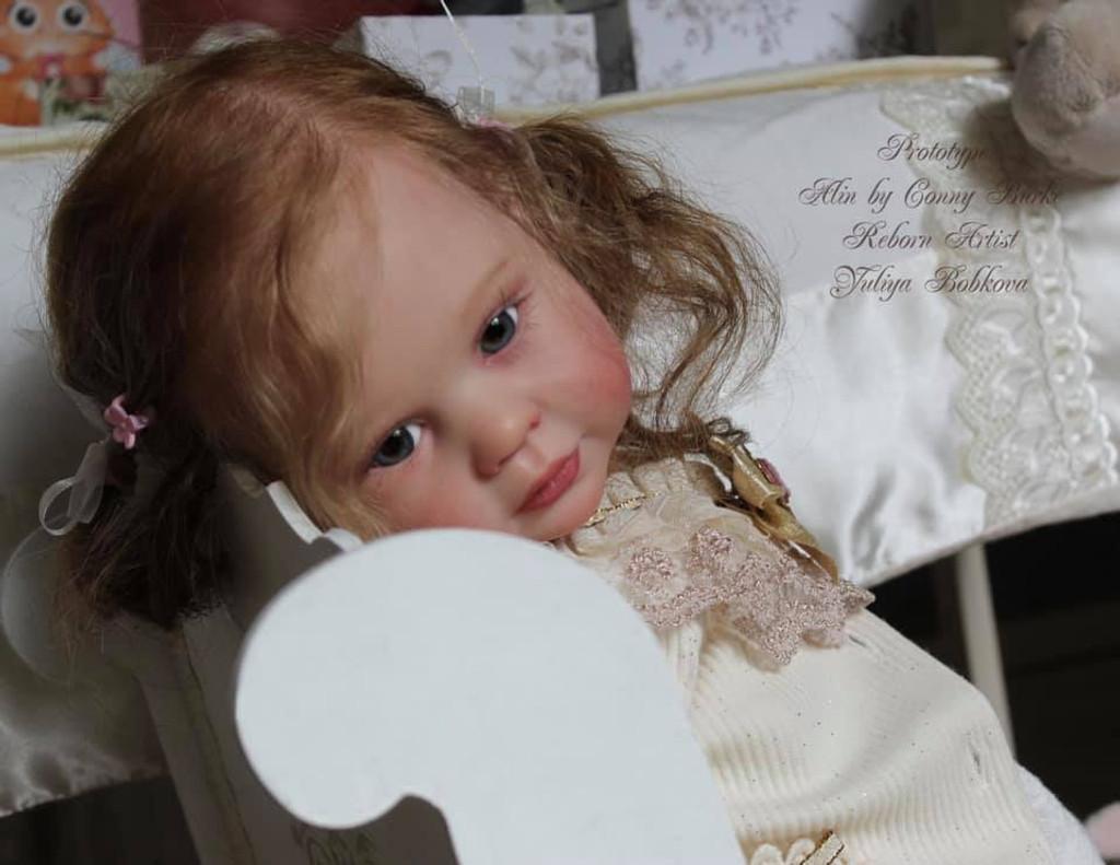 Alin Reborn Vinyl Toddler Doll Kit by Conny Burke