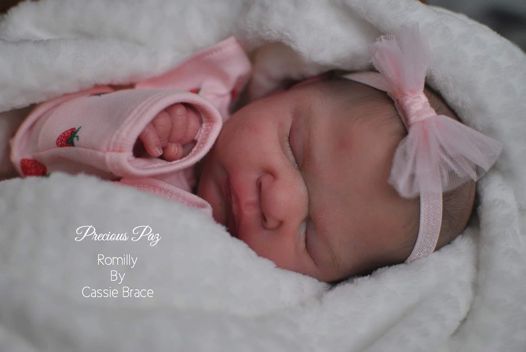 Romilly Reborn Vinyl Doll Kit by Cassie Brace