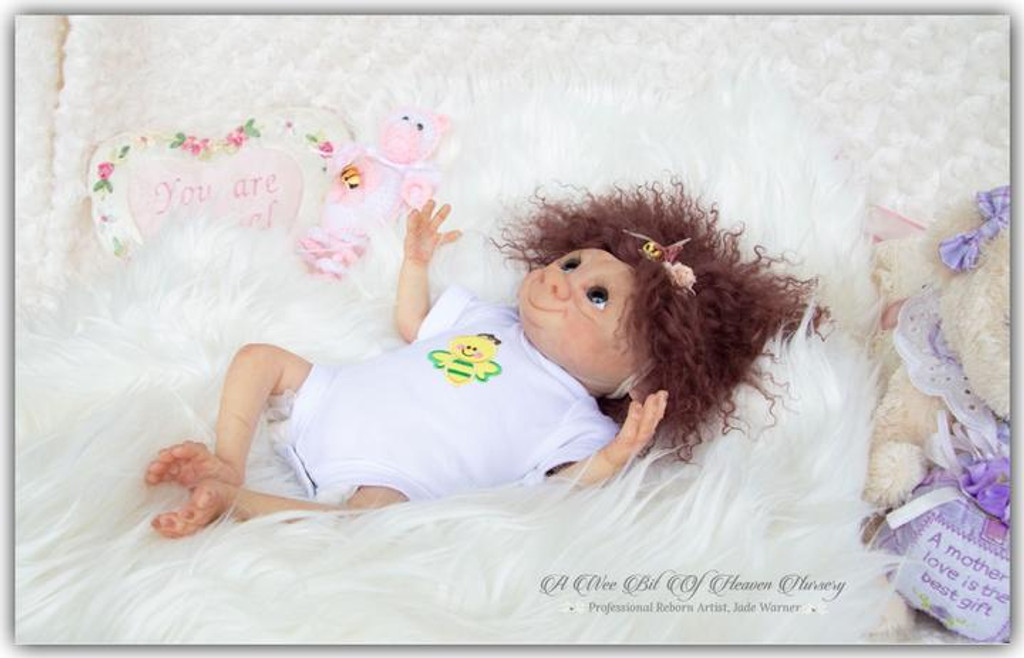 Puggles The Garden Gnome Reborn Vinyl Doll Kit by Jade Warner Irresistables Exclusive!