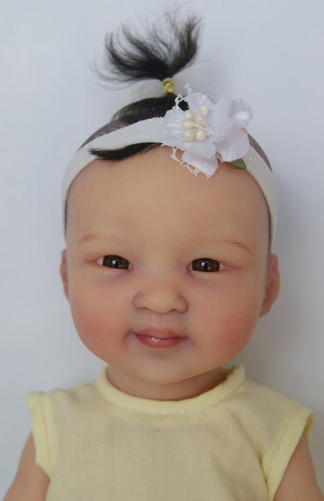 Mollylee Mini Toddler Reborn Vinyl Doll Kit by Marita Winters  11 inches
