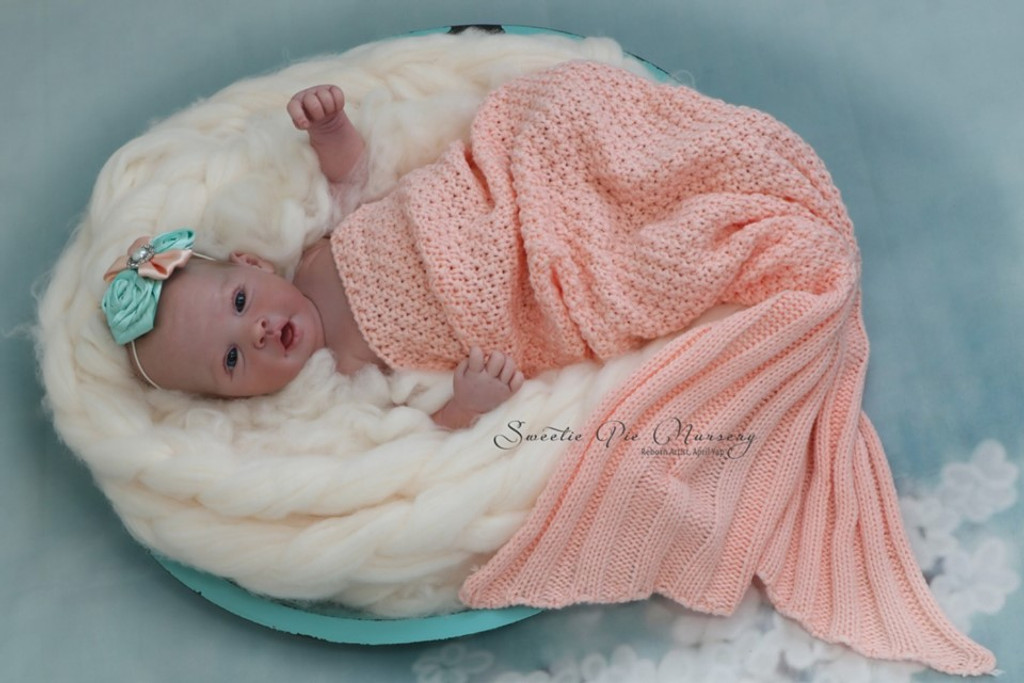 Amelia Reborn Vinyl Doll Kit by Ping Lau