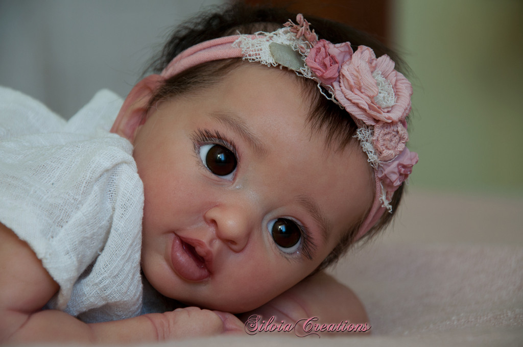 Layla Reborn Vinyl Doll Kit by Andrea Arcello