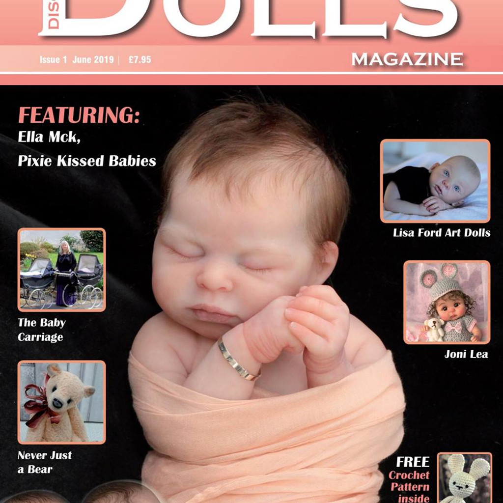 PRE-ORDER YOUR Discover Dolls Magazine Issue 1 June 2019 GRAND OPENING EDITION