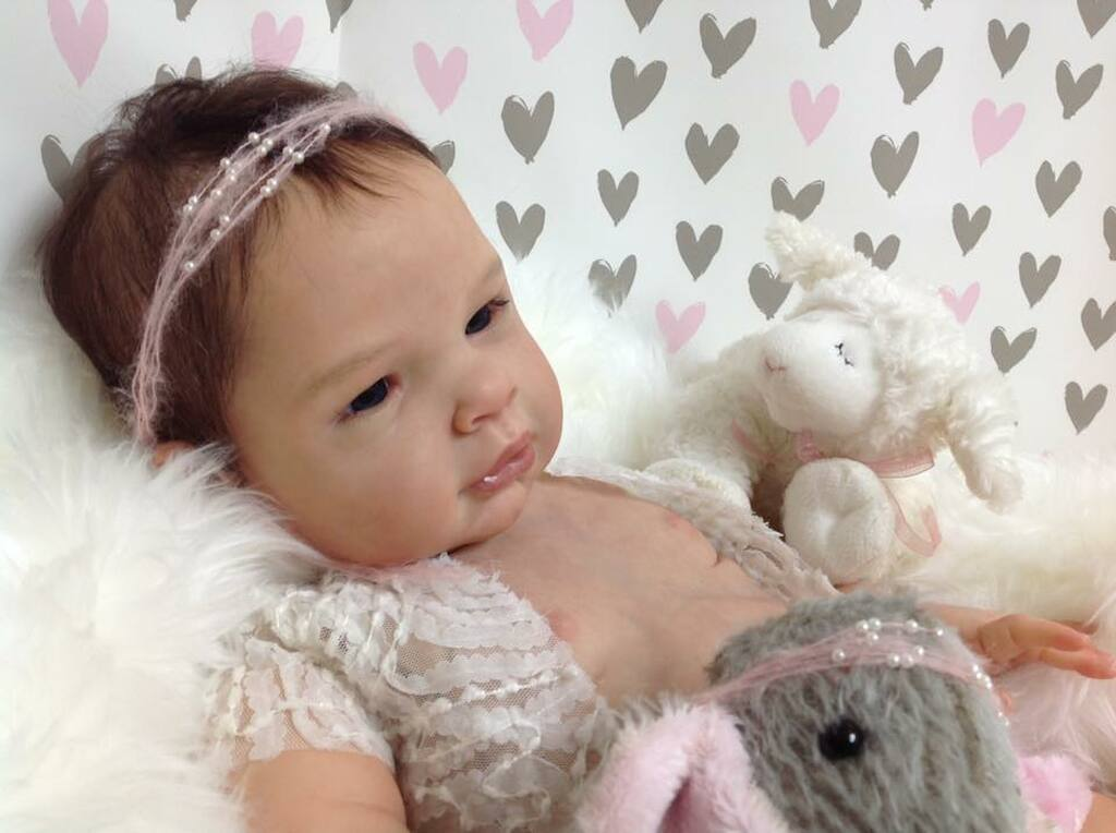 Asia Reborn Vinyl Doll Kit by Cassie Brace