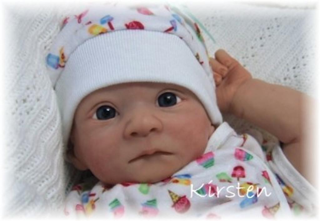 Kirsten Mini Vinyl Reborn Doll Kit by Stephanie Sullivan