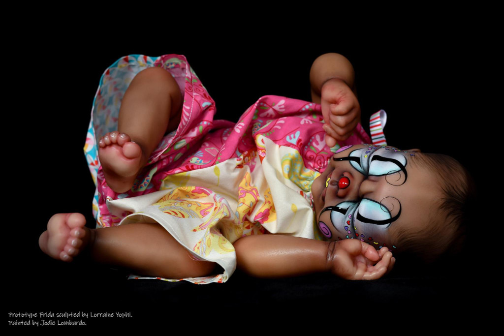 Frida Reborn Vinyl Doll Kit by Lorraine Yophi