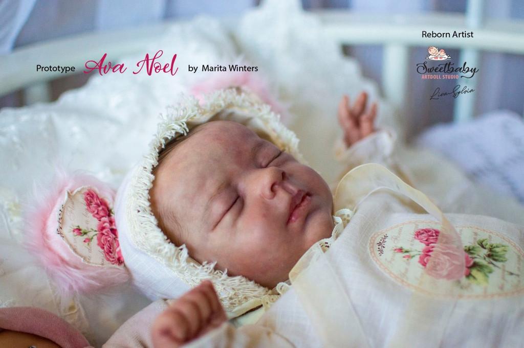Ava Noel Reborn Vinyl Doll Kit by Marita Winters
