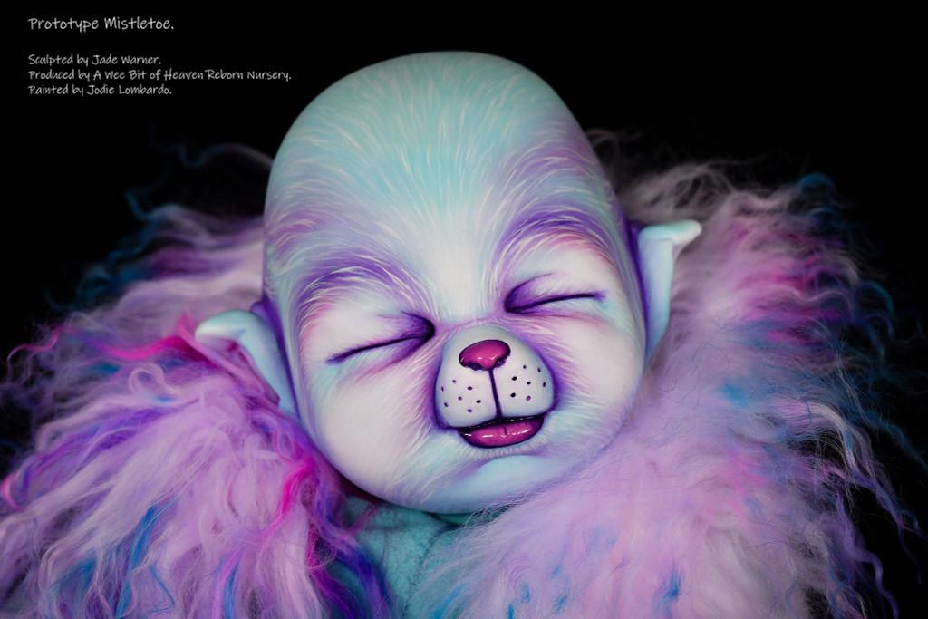 Mistletoe Reborn Vinyl Doll Kit by Jade Warner Irresistables Exclusive!