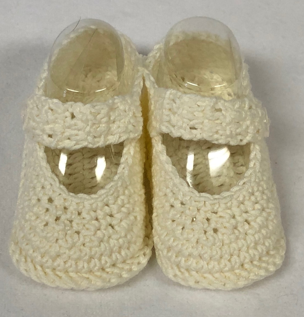 Crochet Baby Doll Booties Newborn to 6 Months 0218-289