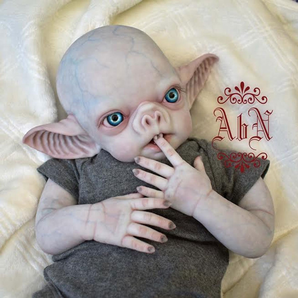 Vlad the vampire Reborn Vinyl Doll Kit by Noemi Smith FREE Custom Made EYES WITH PURCHASE!