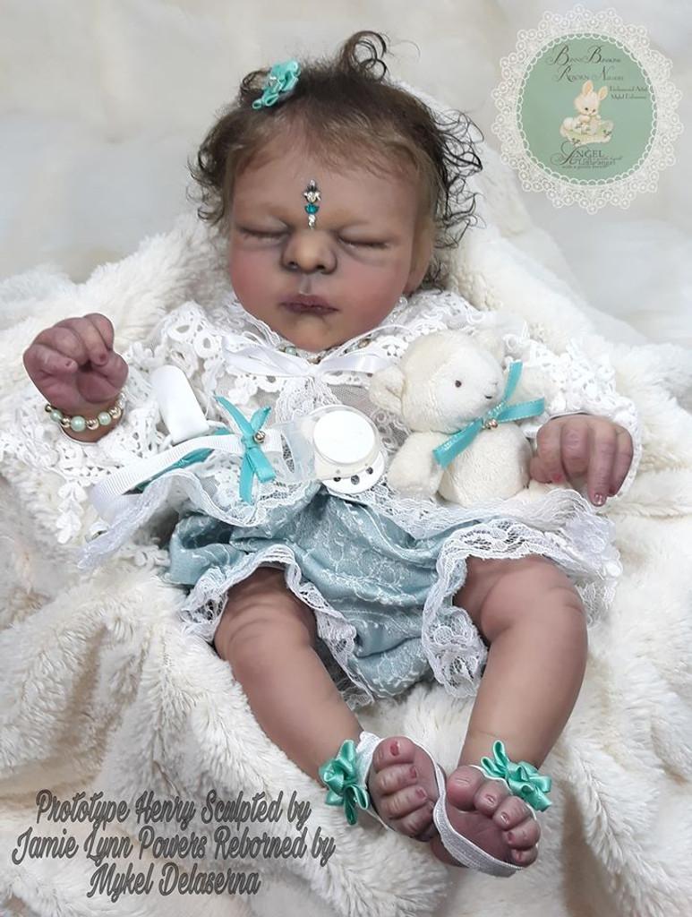 Henry Reborn Vinyl Doll Kit by Jamie Lynn Powers Great Value Price!