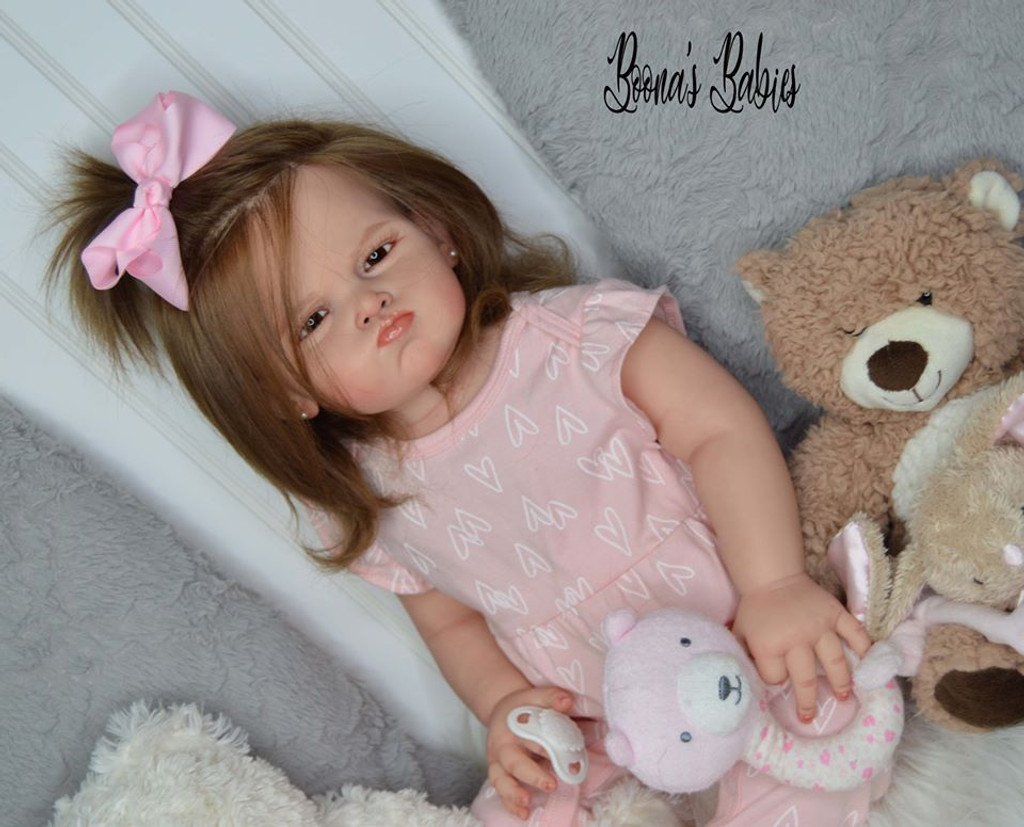Grace Reborn Vinyl Toddler Doll Kit by Ping Lau