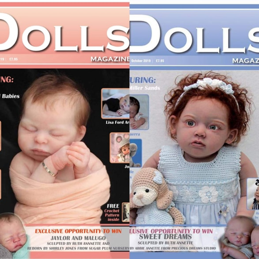 Discover Dolls Magazine Issue 1 & 2