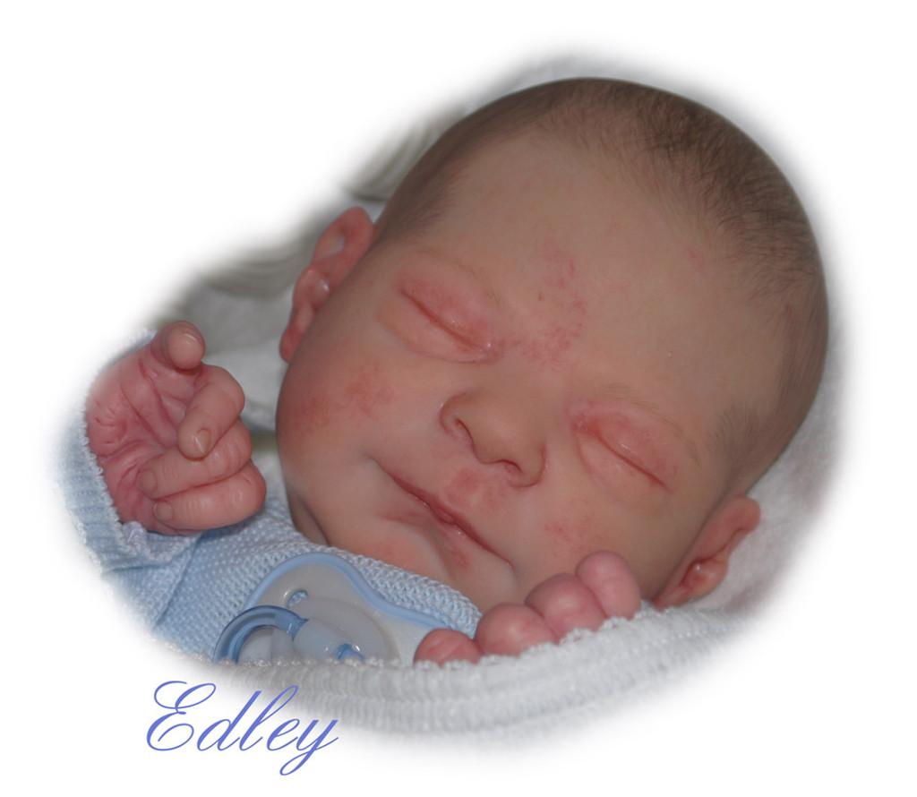 Edley Reborn Vinyl Doll Kit by Elisa Marx