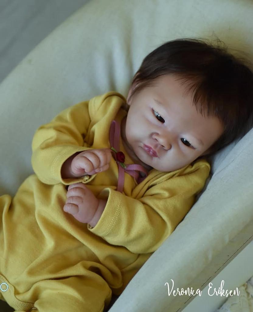 Hiromi Reborn Vinyl Doll Kit by Dawn Murray McLeod