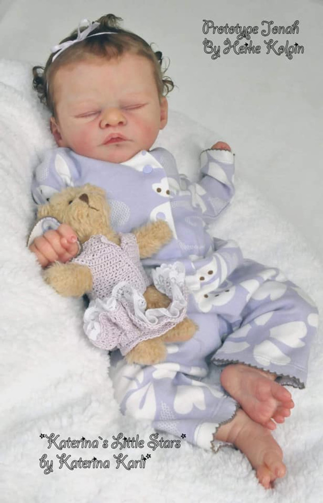 Jonah Reborn Vinyl Doll Kit by Heike Kolpin