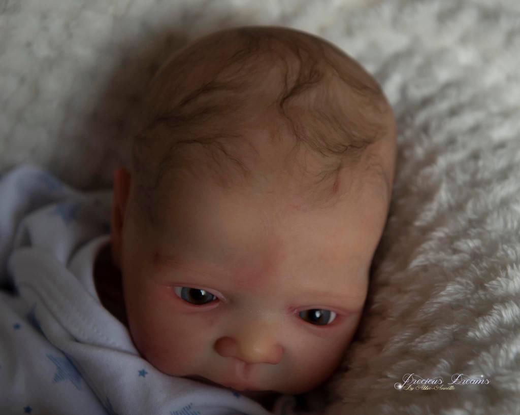 Mick Awake Reborn Vinyl Doll Kit by Adrie Stoete