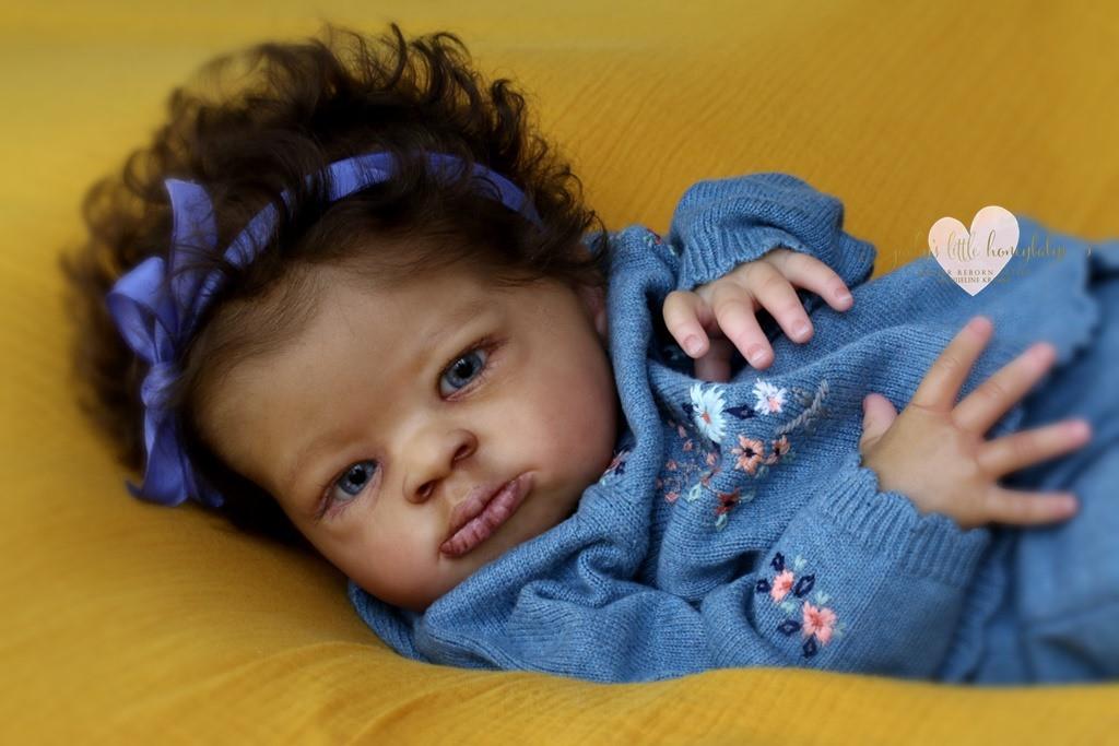 Lanny Reborn Vinyl Doll Kit by Olga Auer