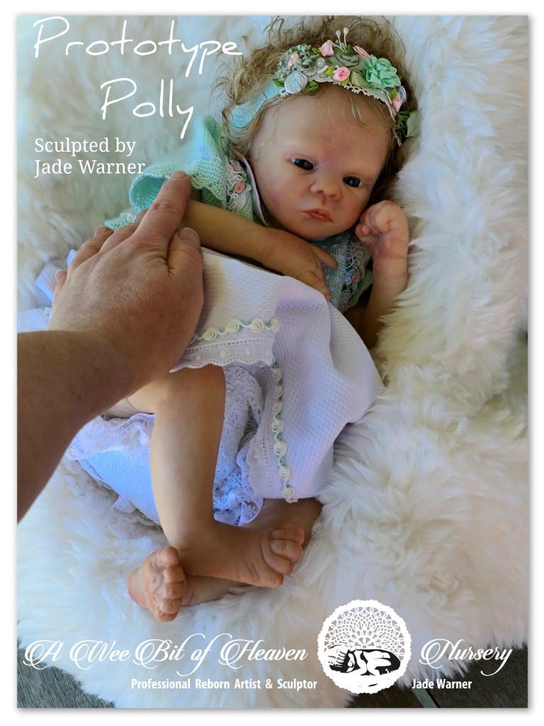 Polly Reborn Vinyl Doll Kit by Jade Warner