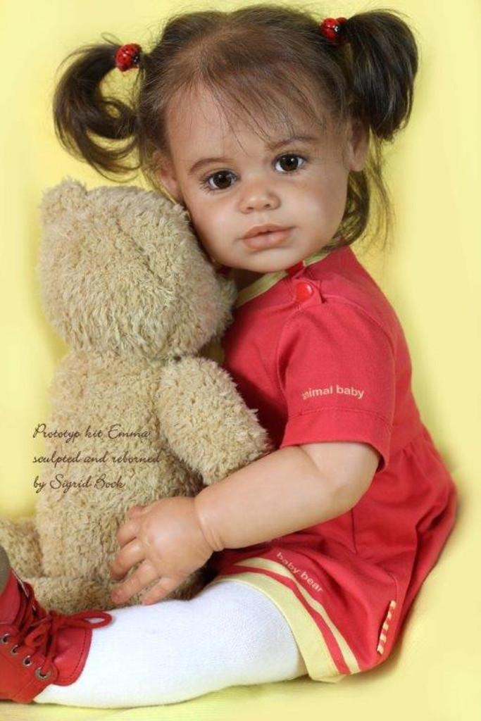 Emma  Reborn Vinyl Doll Kit by Sigrid Bock