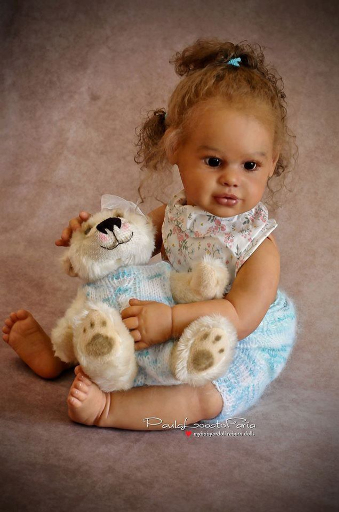 Emma  Reborn Vinyl Doll Kit by Sigrid Bock