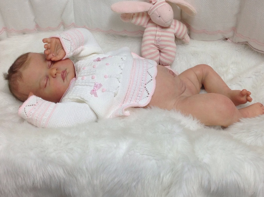 Charlotte Reborn Vinyl Doll Kit by Ping Lau