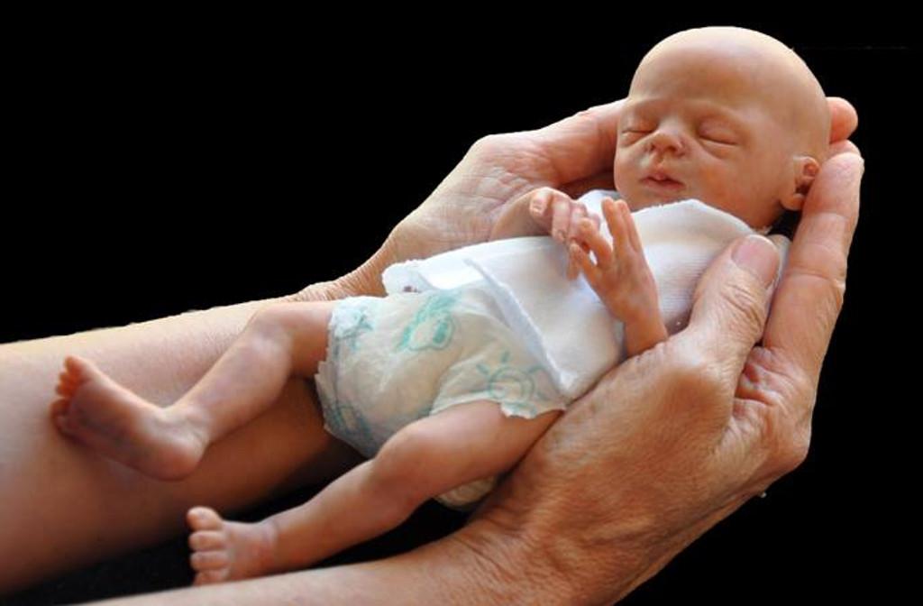 Promise Micro Preemie Reborn Vinyl Doll Kit by Marita Winters