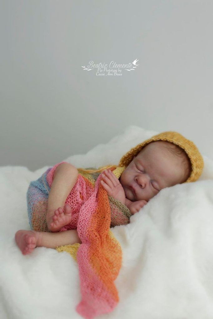 Pip Reborn Vinyl Doll Kit by Cassie Brace