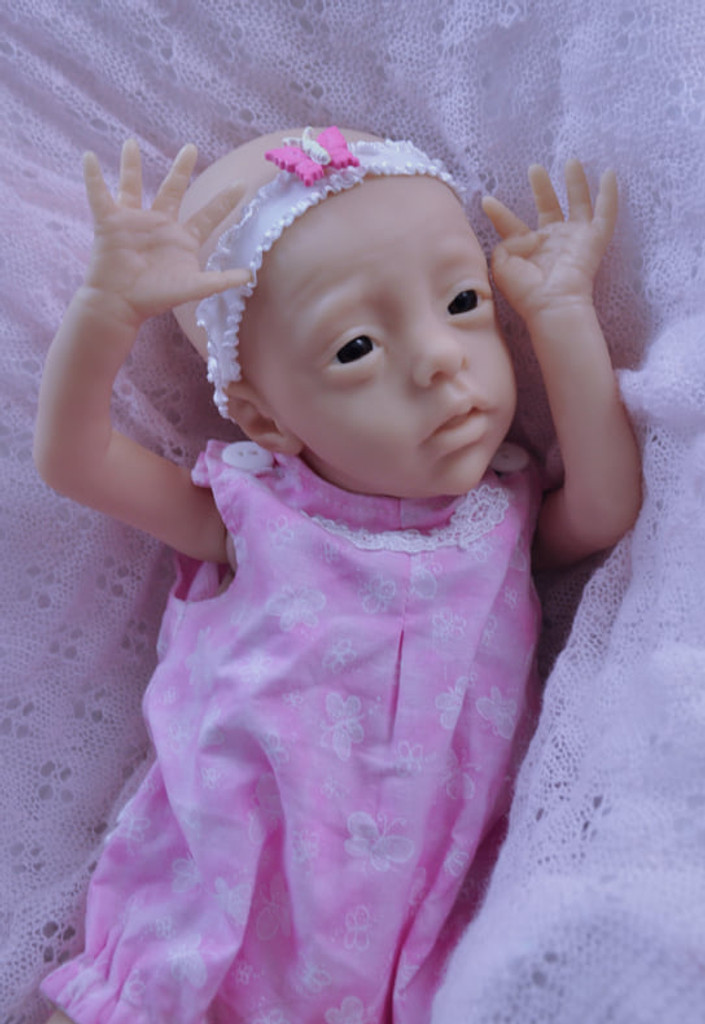 Half Pint Reborn Vinyl Doll Kit by Marita Winters